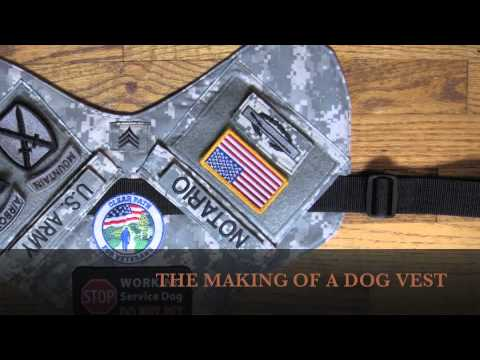 Dog Vest Patches Dog Vests 4 Vets