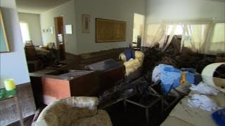 California town begins cleanup after devastating storm