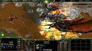 Warcraft 3 | Holy War | Neltharion In Game??? | First time playing