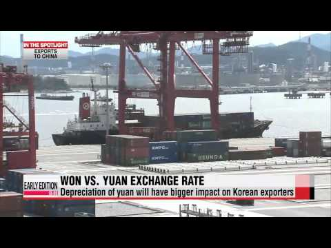 Slowing Chinese economy and Korean exports: Analysis
