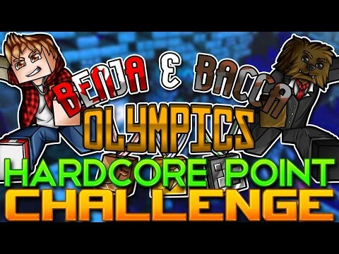 Minecraft Benja & Bacca Olympics 2: EPIC POINT CHALLENGE - Game 4! (Warhead Challenge)