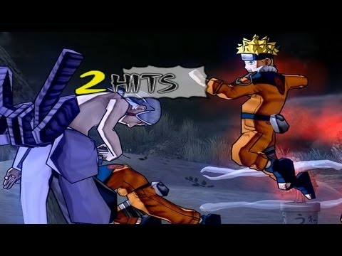 Naruto Ultimate Ninja 3 WS patched HD running on PCSX2 1.1.0