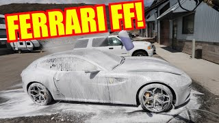 Swapping out the Audi R8 for a Ferrari FF!