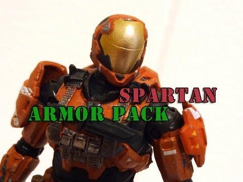 McFarlane Halo Reach Spartan CQB Armor Pack