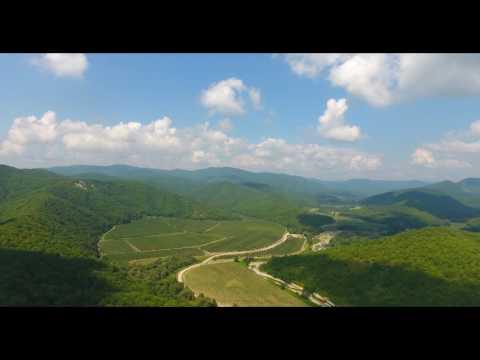 Полет над Кавказкими горами 4К Phantom 4