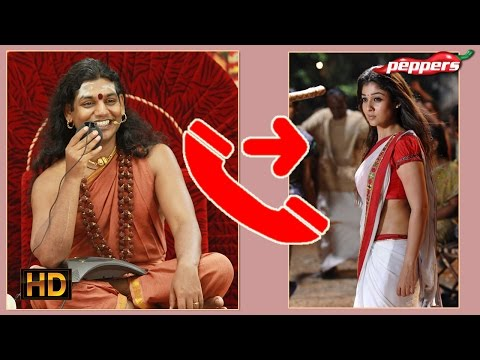 Tamil Movie Gossip - Nithyananda Invites Nayanthara To His Ashram?  நாங்க சொல்லல்ல video