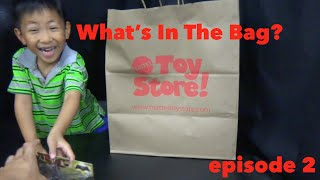 Whats in the Bag? - Episode 2 - Toy Store Haul