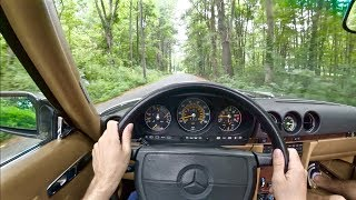 1989 Mercedes Benz 560SL - Tedward POV Test Drive (Binaural Audio)