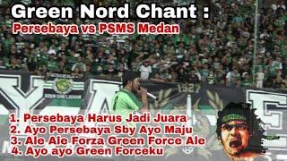Kerasnya Suara Perut Chant dari Tribun Green Nord Sampai menggetarkan Stadion GBT Sby | PSBY vs PSMS