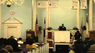 Pastor Aaron Gibson