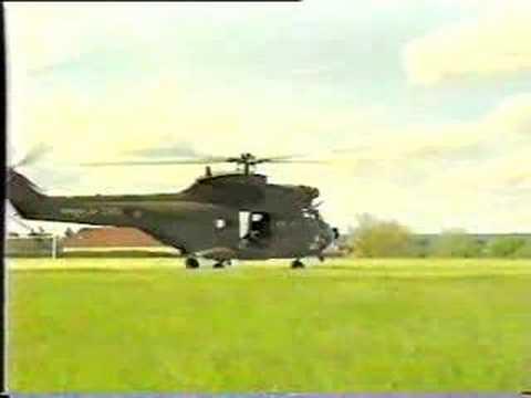 Crash Helicoptere puma armée française