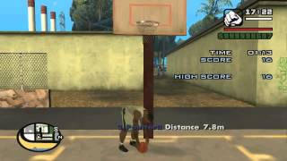 GTA San Andreas Basketball Challenge 40 Points