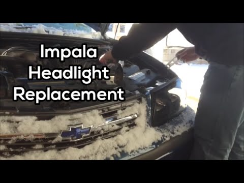 How To Change. Install. Adjust Headlights 2000-2005 Chevrolet Impala