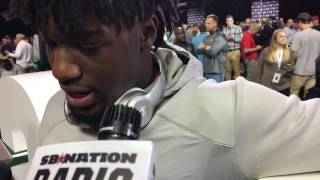 Deon Cain Clemson on what motivates him to succeed for the Tigers