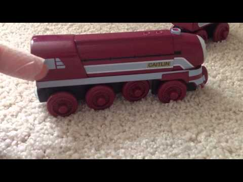 Caitlin King Of The Railway Review 2013 Thomas Wooden Railway