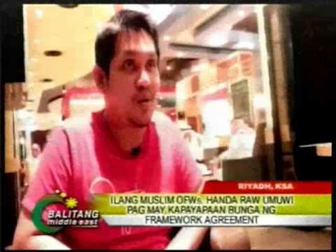 BME Roland Blanco - MILF Peace Framework ilang pananaw