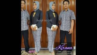 Baju Batik Wanita Modern Gayuh Rahayu  ViYoutubecom
