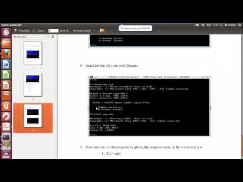 Configuring MASM on Ubuntu