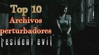Top 10: Archivos Perturbadores de Resident Evil