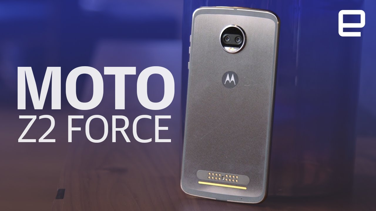 Moto Z2 Force | Hands-on