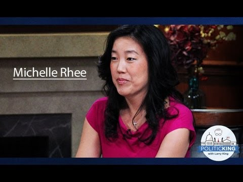 Are We Failing Our Kids? Michelle Rhee Speaks Out | Politicking with Larry King - Ora TV