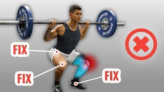 How To Squat Without Knee Pain (4 Mistakes You're Probably Making)
