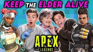Keep The Elder Alive Challenge   APEX LEGENDS (React: Gaming)