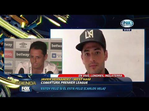 Chicharito se molestó al ser cuestionado por la decisión de Vela
