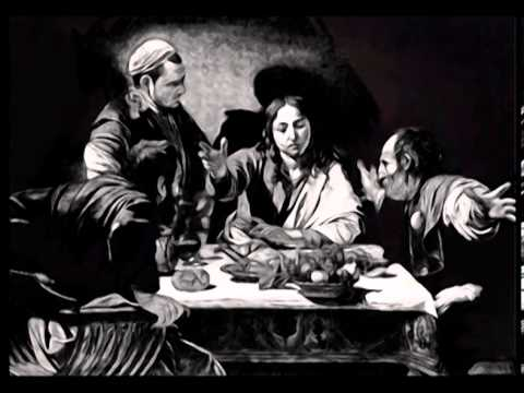 The Supper at Emmaus * Caravaggio (Video Art)