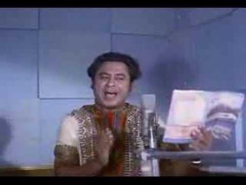 Kishore Kumar live studio recording