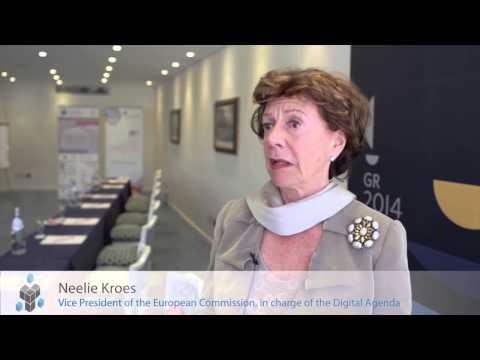 EDF2014: Interview with Neelie Kroes (European Data Forum)