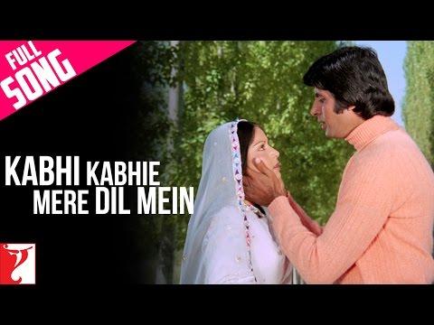Kabhi Kabhie Mere Dil Mein - Male - Full Song - Kabhi Kabhie