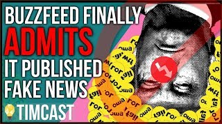 Buzzfeed FORCED To Admit It Published FAKE NEWS About Trump