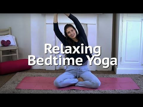 Relaxing Bedtime Yoga | Annie Clarke | Mind Body Bowl