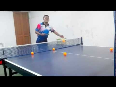 Servis Pendek ( Short Service ) - Tenis Meja (Table Tennis Indonesian Style)