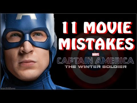 11 Mistakes in Captain America The Winter Soldier Movie