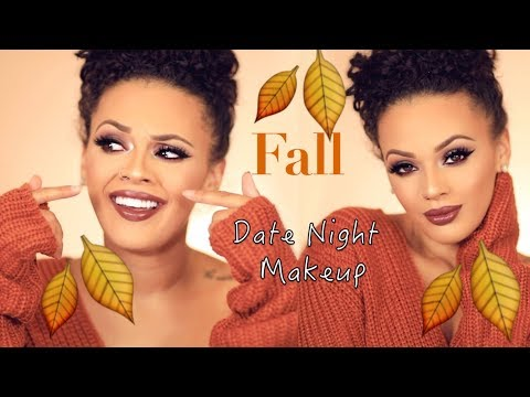 Fall Date Night Makeup ft. Deck of Scarlet    Viva_Glam_Kay