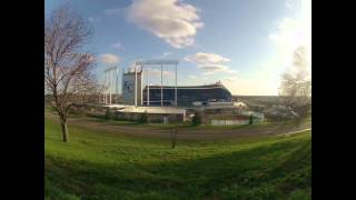 Royals stadium Time lapse Kansas City Missouri