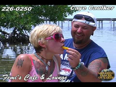 Femi&#8217;s Cafe and Lounge Caye Caulker Belize
