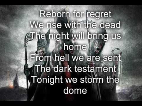 Powerwolf - Die, Die, Crucified/(lyrics)