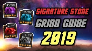 Signature Stone Grind Guide 2019 | Marvel Contest of Champions