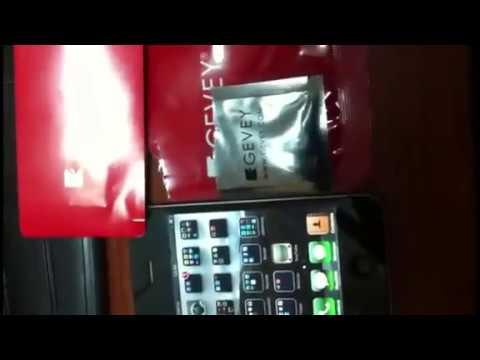 UNLOCK IPHONE GEVEY SIM ECUADOR