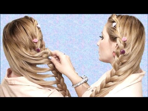 TRENZA de verano 2013 peinado romantico Summer hairstyle for long hair: