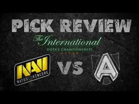 Pick review: Alliance vs Na'Vi - The International 3 - Grand Finals Game 5 (in English and Russian)