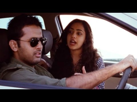 Ishq Movie || Thrilling Action Chase Of Nithya Menon & Nithin By Ajay || Nitin, Nithya Menen video