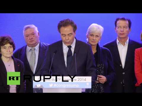 France: Sarkozy voted president of UMP
