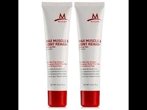 MISSION Max Muscle   Joint Pain Relief 2pack  AUTOSHIP