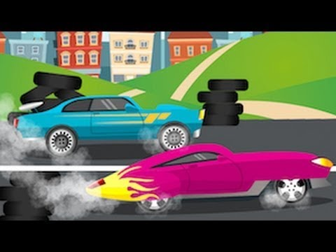 Racing Car RED Patrol and the Big Race  for Kids | Cars, Trucks