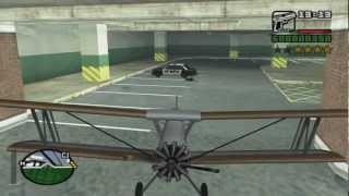 GTA San Andreas get the Cropduster at the beginning of the game