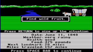 The Oregon Trail 2 Gameplay and Commentary